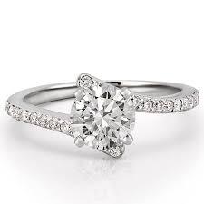 engagement rings unique women s unique pave diamond engagement ring patronus do