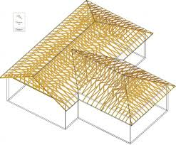 prefabricated roof trusses illustration of a prefabricated metal plated roof truss system