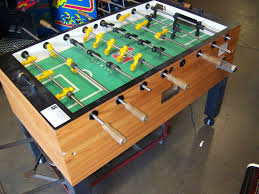 foosball table tornado coin operated item is in used condition