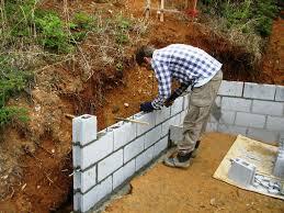 inspirations home depot cinder blocks retaining wall block