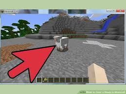 color sheep minecraft 6 steps pictures