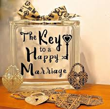 guest book alternatives for weddings guest book alternative glass block with the key to a happy