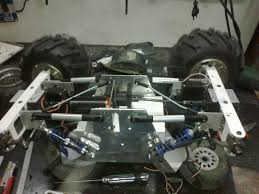 bigfoot 8 monster truck home build solid axles monster truck using 1 8 transmission r