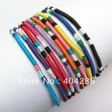 color string bracelet images Wholesale 120pcs mixed color macrame silk handmade friendship jpg