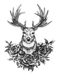 25 gorgeous deer tattoo ideas on pinterest deer design cherry