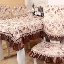 cloth chair covers millet home fabric quality modern fashion flower table cloth chair