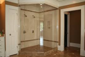bed u0026 bath neo angle shower glass door with steam shower and tile