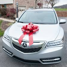 car gift bow car bow no assembly required big magnetic bows