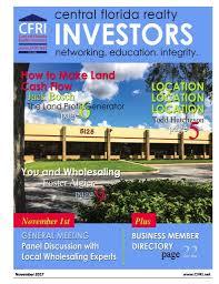 central florida realty investors association metro orlando real