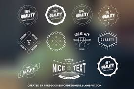 free psd goodies and mockups for designers free vector insignia
