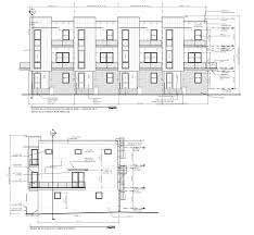 floor plans and elevations 37hundred luxury townhomes new orleans