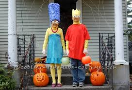 Halloween Costumes Simpsons 23 Awesome Blue Haired Marge Simpson Costume Ideas