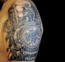 i never plan on getting a tattoo but if i did it would be of aztec