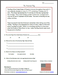 reading comprehension 4th grade patriotic and 4th of july worksheets and printables mamas