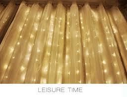 2 2 m led lighting lights curtain garland wedding