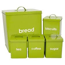 lime green kitchen canisters lime green kitchen decor ideas and tips storage sets tin