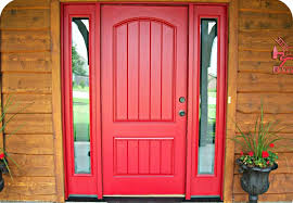 decorations charming red front door paint color with double