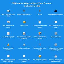 social media content ideas 20 ways to grow your following