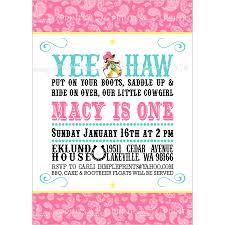 printable confirmation invitations cowgirl birthday invitation digital printable dimple prints shop