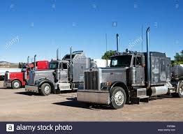 kenworth truck and trailer an american kenworth truck in front of a touring circus big top or