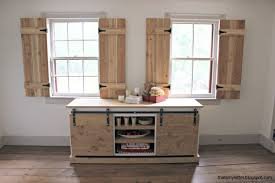 Kitchen Window Shutters Interior White Interior Cedar Shutters Feature By Pretty Handy