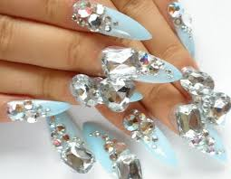 oh how i pine for you gorgeously expensive looking nails nail