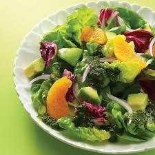 orange u0026 avocado salad recipe eatingwell