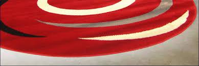 Round Red Rug Surf Modern Round Rug U003cbr U003e 2581sr Round Surf Rugs 2581sr 269