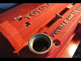 how to paint valve covers cam covers with a wrinkle finish youtube