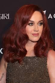 katy perry u0027s new auburn hair celebrity beauty news glamour