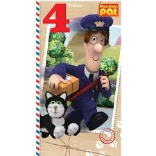 postman pat age 5 birthday card danilo