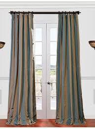 Teal Taffeta Curtains Faux Silk Signature Teal 96 Inch Curtain Panel Teal Curtains