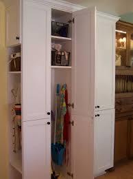 Cleaning Closet Ideas Broom Closet Organization Ideas Home Design Ideas