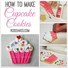 How To Make Cake Decorations How To Decorate Cupcake Cookies