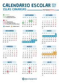 calendario escolar argentina 2017 2018 calendario escolar 2016 2017 en canarias navidad semana santa y