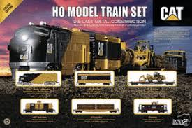 model sets ho scale caterpillar logging cat set