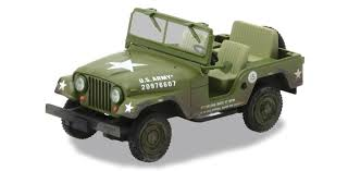 jeep us elvis u s army jeep 1 43 scale diecast model by greenlight