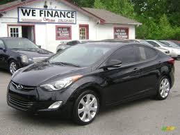 2011 black hyundai elantra 2011 black hyundai elantra limited 80672135 gtcarlot com car
