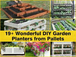 19 wonderful diy garden planters from pallets