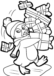 cute baby penguin coloring clipart library free clipart images