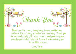 wedding gift thank you wording baby shower thank you note wording wedding