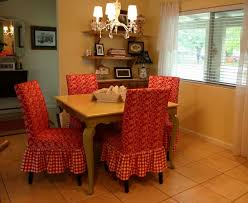 Fabric Dining Room Chair Covers Dining Room Chair Slipcovers Offers Fresh Look To Your Dining Room