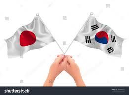 Korea Flag Icon Japan Korea Flag Icon Stock Vector 566380075 Shutterstock