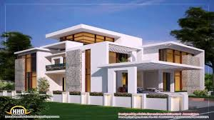 modern contemporary house design with floor plan youtube