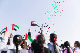 Colors Of Uae Flag Fujairah Pupils March To Celebrate Uae U0027s National Day The National