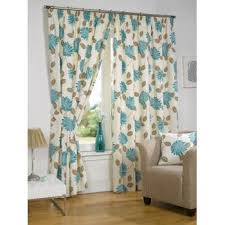 buy morocco teal pencil pleat curtains