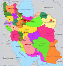 Iran On World Map Iran Karte Annakarte Com