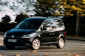 volkswagen car black volkswagen caddy gets extra kit with sporty black edition auto
