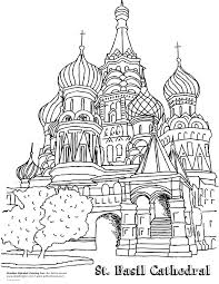 inspiration or coloring page russia u0027s st basil u0027s cathedral