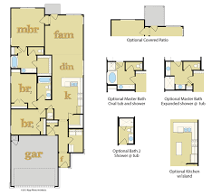 floor plans for new homes new homes for sale manor 78653 bell farms floor plans